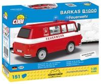 Cobi 24594 Barkas B1000 Feuerwehr 151 Teile Bausatz