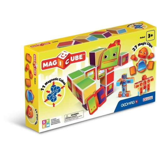 Geomag 1423 Magicube Robots Magnetisches Konstruktionssystem