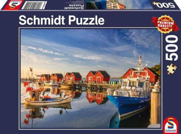 Schmidt 58955 Fischereihafen Weiße Wiek 500 Teile Puzzle