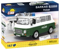 Cobi 24596 Barkas B1000 Polizei 157 Teile Bausatz