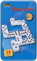 Idena 6050012 Domino Double Six in Tin Box