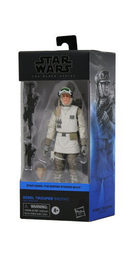 Hasbro F0101 Star Wars S3 Black Series Rebel Trooper (Hoth) 15cm