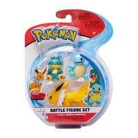 Pokemon Battle Figure Set Blitza, Schiggy, Mampfaxo