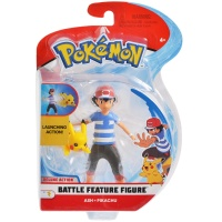 Pokemon Battle Feature Figur Ash und Pikachu