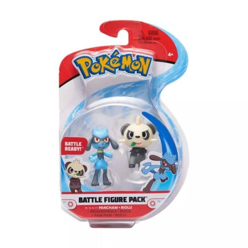 Pokemon Battle Figure Pack Pam-Pam und Riolu