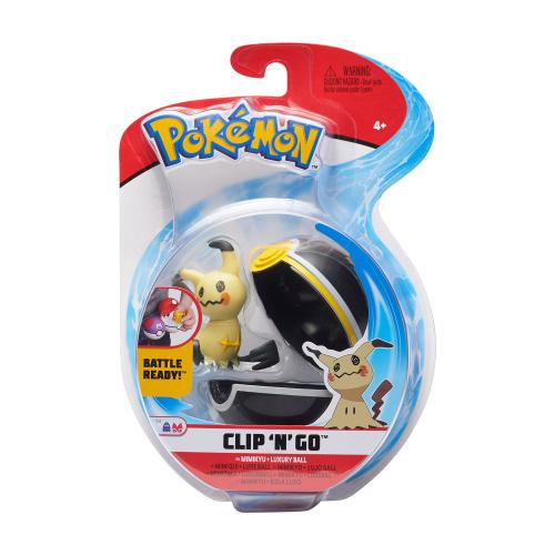 Pokemon Clip N Go Set Mimigma & Luxusball