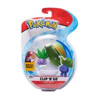 Pokemon Clip N Go Set Myrapla & Nestball