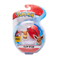 Pokemon Clip N Go Evoli & Pokeball