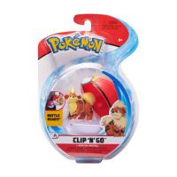 Pokemon Clip N Go Set Fukano & Wiederball