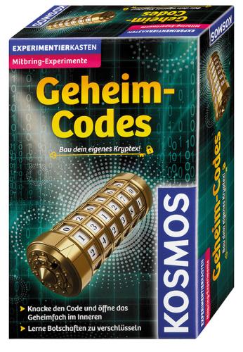 KOSMOS 65756 Geheim-Codes Bau dein eigenes Kryptex!