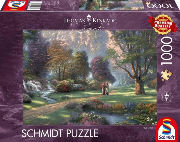 Schmidt 59677 Kinkade - Spirit Weg des Glaubens 1000 Teile Puzzle