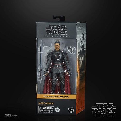Hasbro F1304 STAR WARS Black Series Figure Moff Gideon 15 cm