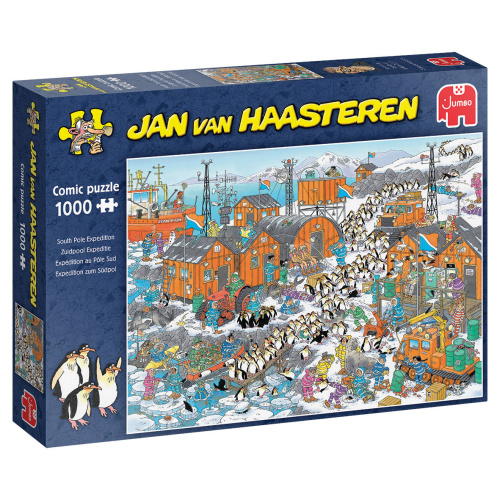 Jumbo 20038 Jan van Haasteren South Pole Expedition 1000 Teile Puzzle