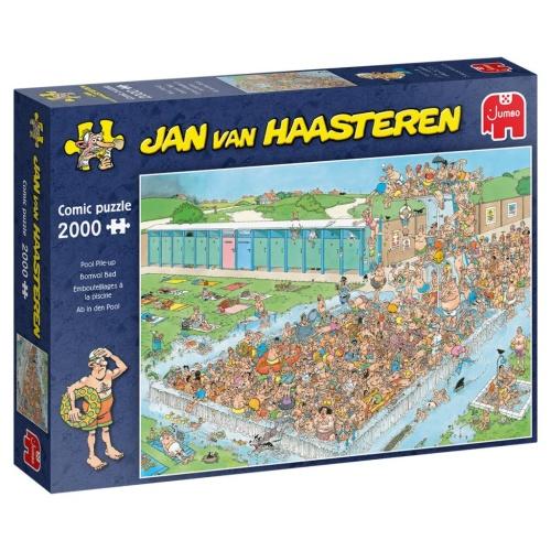 Jumbo 20040 Jan van Haasteren - Pool Pile-Up 2000 Teile Puzzle