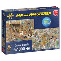 Jumbo 20052 Jan van Haasteren - Ein Ausflug ins Museum 2x...