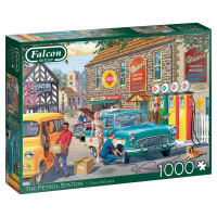 Jumbo 11321 Falcon - The Petrol Station 1000 Teile Puzzle