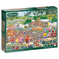 Jumbo 11304 Falcon - Summer Music Festival 1000 Teile Puzzle