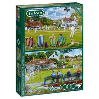 Jumbo 11309 Falcon - The Village Sporting Greens 2x1000...