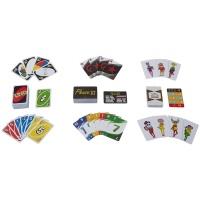 Mattel FFK01 Kartenspiele Spielesammlung in Sammlerdose...