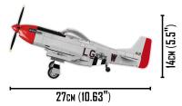 COBI 5806 Top Gun Mustang P-51D 265 Teile Bausatz