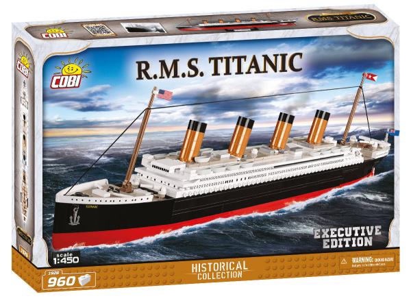 COBI 1928 HC Titanic Executive Edition 960 Teile Bausatz