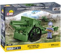 COBI 2981 HC Great War 155mm Feldhaubitze 122 Teile Bausatz