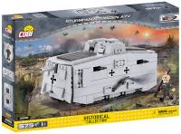 COBI 2982 HC Great War Sturmpanzerwagen A7V 575 Teile...