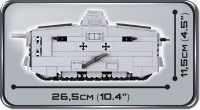 COBI 2982 HC Great War Sturmpanzerwagen A7V 575 Teile Bausatz
