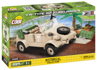 COBI 2402 HC WWII VW TYPE 82 Kübelwagen 195 Teile...