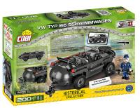COBI 2403 HC WWII VW TYP 166 Schwimmwagen 200 Teile Bausatz