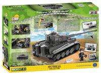 COBI 2538 HC WWII Panzerkampfwagen VI Tiger Ausf. E 800...