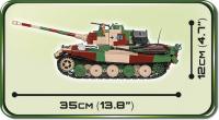 COBI 2540 HC WWII Panzerkampfwagen VI Ausf.B Königstiger 1000 Teile Bausatz