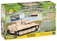 COBI 2704 HC WWII Panzerkampfwagen V Panther 294 Teile...