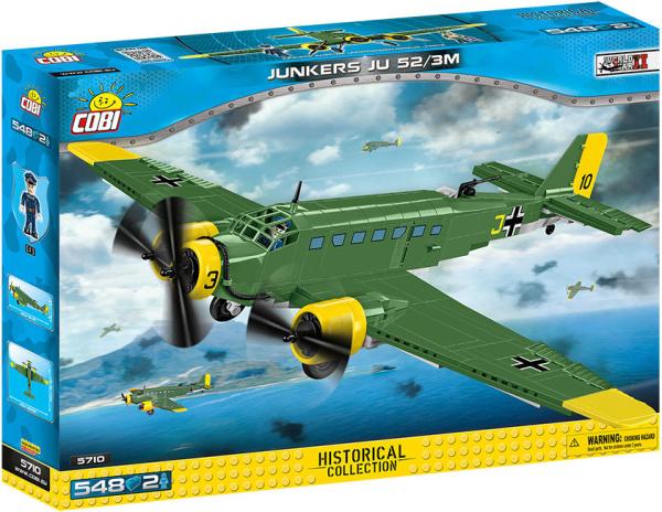 COBI 5710 HC WWII Junkers JU 52/3M 548 Teile Bausatz
