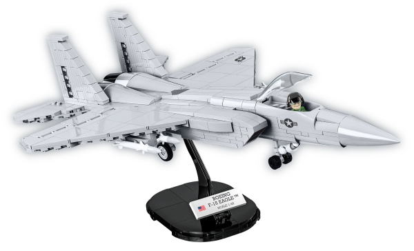 COBI 5803 Armed Forces F-15 Eagle 640 Teile Bausatz