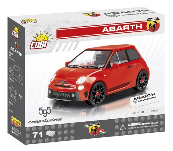COBI 24502 Youngtimer Abarth 500 - 70 Teile Bausatz