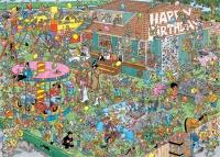 Jumbo 20035 Jan van Haasteren - Kindergeburtstags-Party 1000 Teile Puzzle