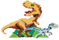 Schmidt 46132 Jixelz - Jurassic World 1500 Teile 1 XXL...