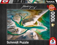 Schmidt 59921 Mark Grey Verschmelzung 1000 Teile Puzzle