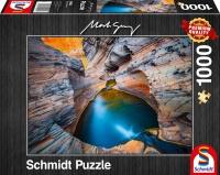 Schmidt 59922 Mark Grey Indigo 1000 Teile Puzzle
