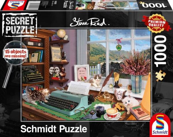 Schmidt 59920 Am Schreibtisch 1000 Teile Secret Puzzle