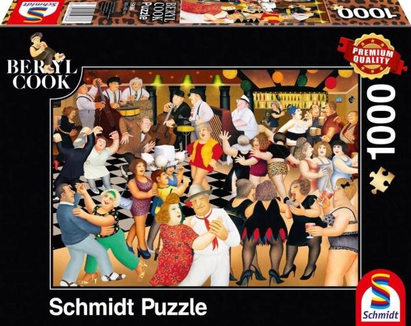 Schmidt 59686 Berryl Cook Partynacht 1000 Teile Puzzle