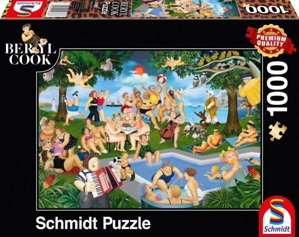 Schmidt 59687 Berryl Cook Sommerfest 1000 Teile Puzzle