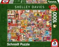 Schmidt 59697 Vintage Handarbeitszeug 1000 Teile Puzzle