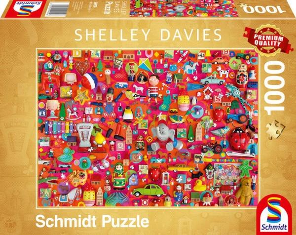 Schmidt Spiele 59699 Vintage Spielzeug 1000 Teile Puzzle
