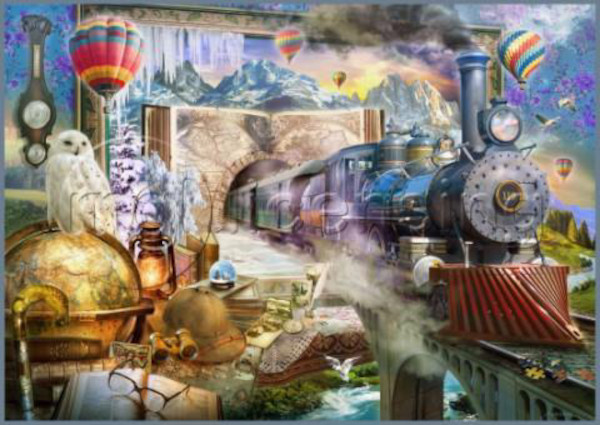 Schmidt 58964 Magische Reise 1000 Teile Puzzle