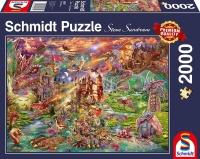 Schmidt 58971 Der Schatz der Drachen 2000 Teile Puzzle