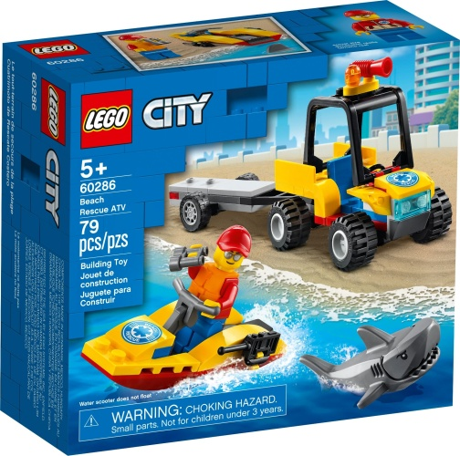 LEGO® 60286 City Strand-Rettungsquad