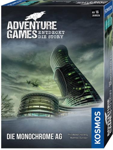 KOSMOS 69513 Adventure Games - Die Monochrome AG
