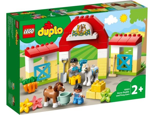 LEGO® 10951 DUPLO® Pferdestall und Ponypflege